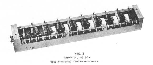 Figure 3 - Vibrato Line Box