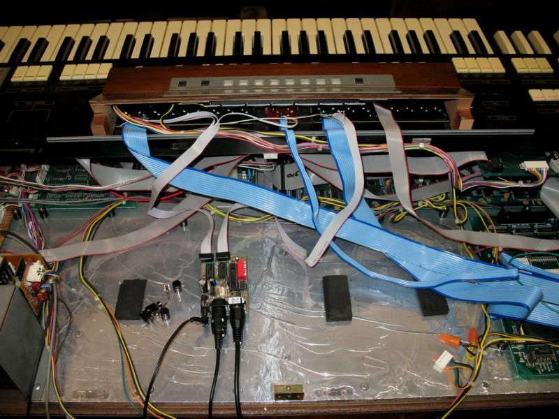 Hammond Super B MIDI Project - Benton Electronics
