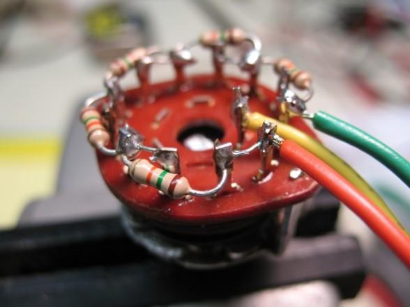 Hammond Super B Vib Switch