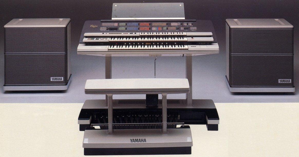 My yamaha electone fx 1 acquisition benton electronics for Yamaha electone organ models